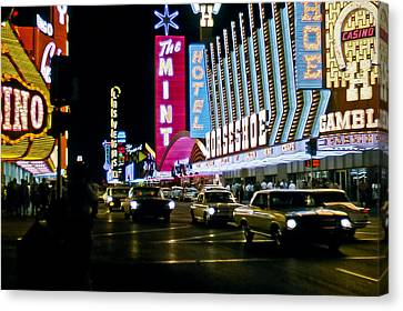 Las Vegas 1964  II Canvas Print by Albert Seger