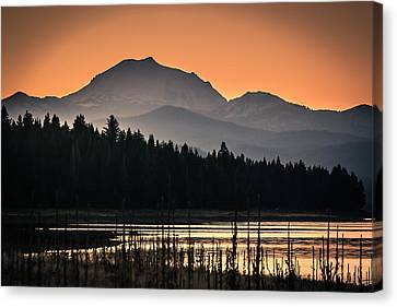 Lassen In Autumn Glory Canvas Print