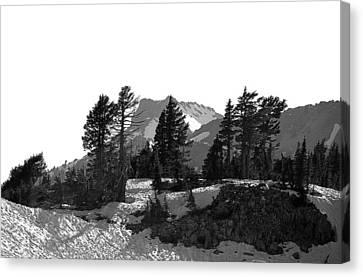 Canvas Print featuring the photograph Lassen National Park by Lori Seaman