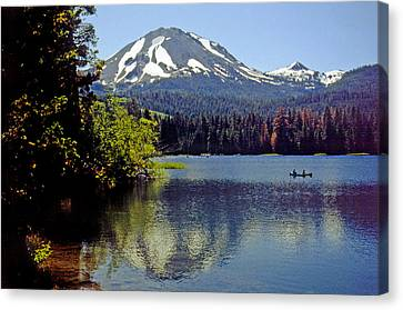 Lassen Reflections Canvas Print