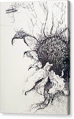 Last Breath Canvas Print by Amy Williams