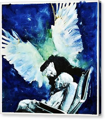 Last Breath Canvas Print by Leonid Rozenberg