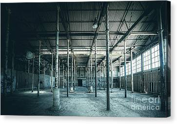 Last Breath Of Abandoned Factory Canvas Print by Svetlana Sewell