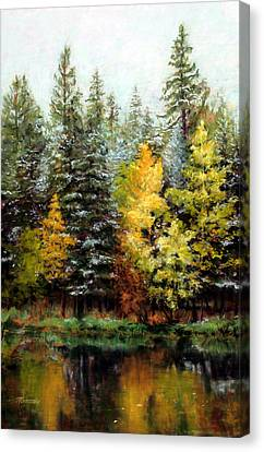 Last Call Canvas Print by Mary Giacomini