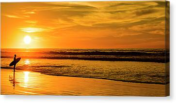Last Call Canvas Print by Peter Irwindale