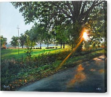 Last Cut Canvas Print