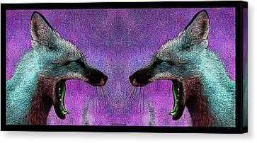 Last Laugh Canvas Print by WB Johnston