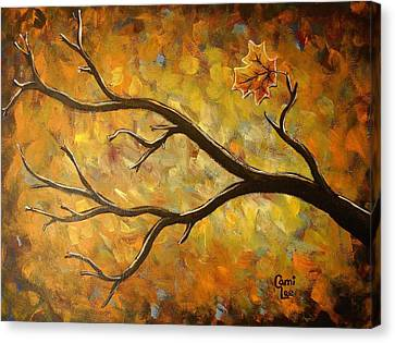 Last Leaf Canvas Print