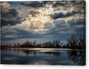 Last Light Canvas Print by James Barber