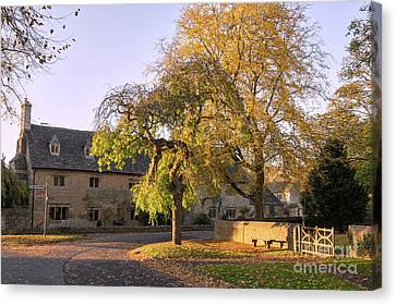 Last Light Lower Slaughter Canvas Print