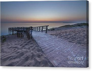 Scenic Drive Canvas Print - Last Light Over The Dunes by Twenty Two North Photography