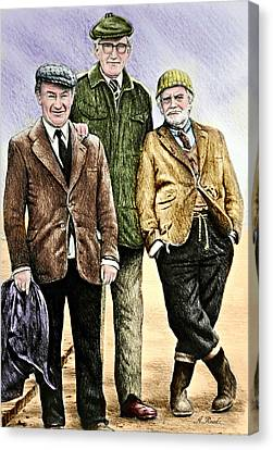 Last Of The Summer Wine Colour Canvas Print by Andrew Read