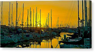 Last Rays Canvas Print