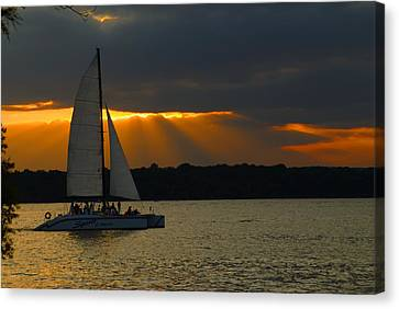 Last Sail Canvas Print