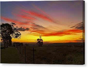 Last Shot Of The Day Canvas Print