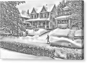 Last Snow For Montclair 2015 Canvas Print