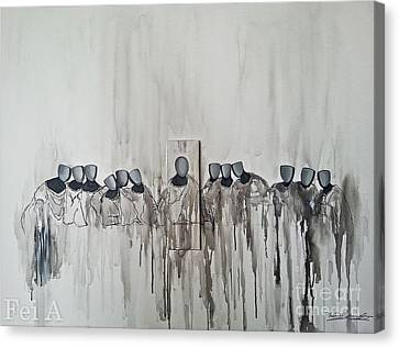 Last Supper Canvas Print by Fei A