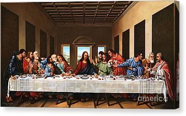 Last Supper Canvas Print by Michael Nowak