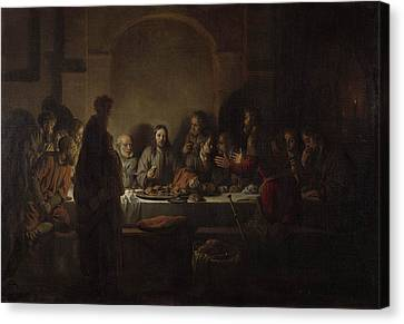 Last Supper Canvas Print by MotionAge Designs