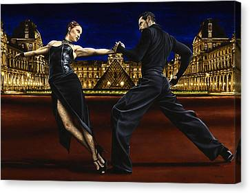 Last Tango In Paris Canvas Print by Richard Young