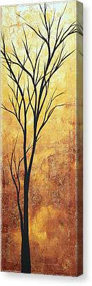 Last Tree Standing By Madart Canvas Print by Megan Duncanson