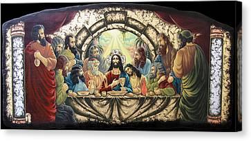 Lasy Supper Canvas Print by Iosif Ioan Chezan