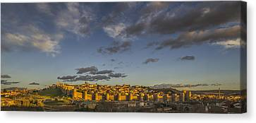 Late Afternoon Avila Canvas Print by Joan Carroll