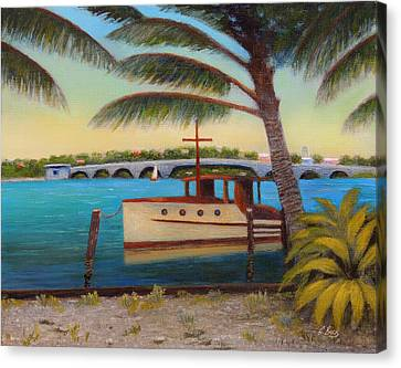 Late Afternoon Canvas Print by Gordon Beck