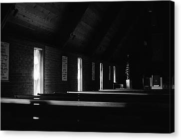 Canvas Print featuring the photograph Late Afternoon Prayer Time by Monte Stevens