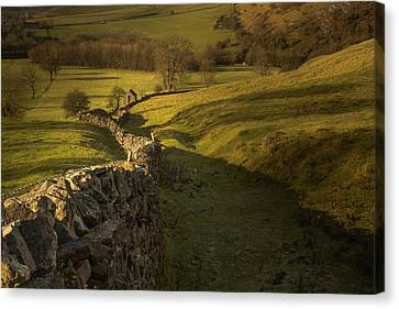 Late Evening In The Peak District Canvas Print