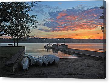 Late May At The Pier 15 Canvas Print by John   Kennedy