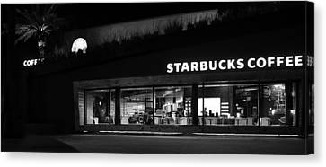 Canvas Print featuring the photograph Late Night At The Bucs by David Lee Thompson
