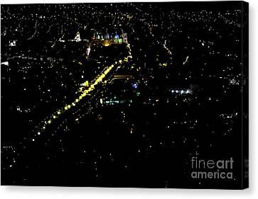 Late Night In Cuenca, Ecuador Canvas Print by Al Bourassa