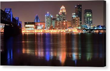 Late Night In Louisville Canvas Print
