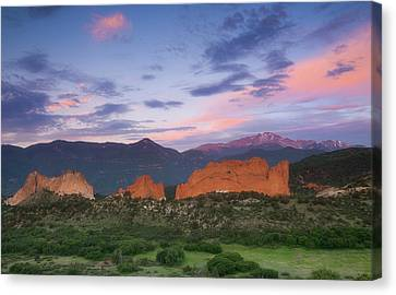 Canvas Print featuring the photograph Late Spring Sunrise by Tim Reaves