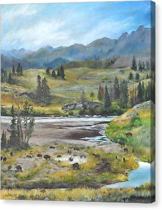 Late Summer In Yellowstone Canvas Print