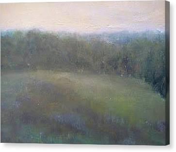 Late Summer Landscape Canvas Print