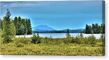 Late Summer On Raquette Lake Canvas Print