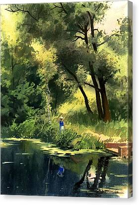 Late Summer Canvas Print by Sergey Zhiboedov