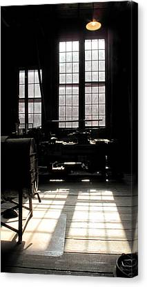 Lathe Canvas Print by Larry Darnell