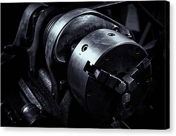 Lathe Canvas Print by Tom Singleton