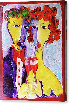 Laubar Share Canvas Print by Laurens  Barnard