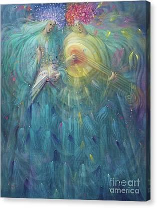 Laudabo Te Domine In Aeternum Canvas Print by Annael Anelia Pavlova