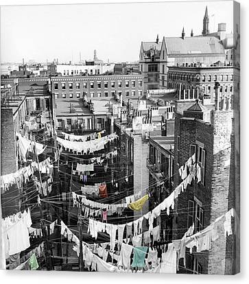 Laundry Day Canvas Print by Andrew Fare
