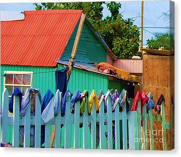 Laundry Day Canvas Print by Debbi Granruth
