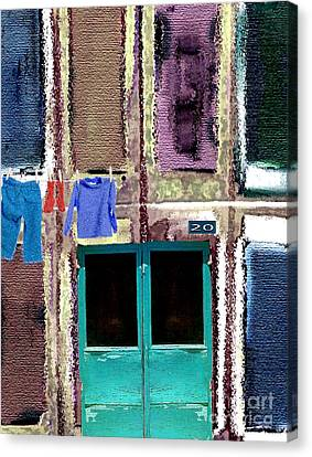 Laundry Day Canvas Print by Mimo Krouzian