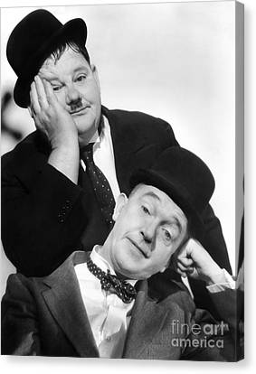 Laurel And Hardy, 1939 Canvas Print by Granger