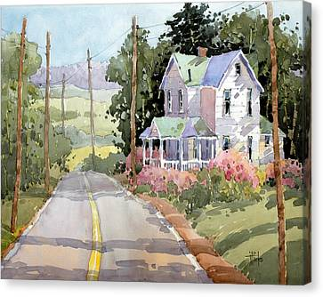 Laurel Mountain Farm Canvas Print