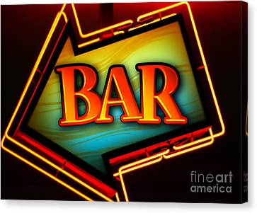 Laurettes Bar Canvas Print