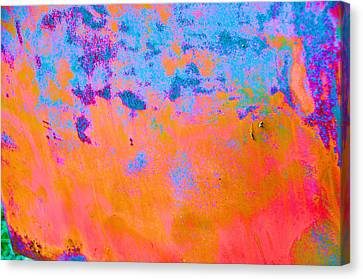 Lava Explosion Canvas Print by Jan Amiss Photography